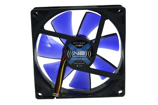 Noiseblocker NB-Blacksilent Fan XE1 Rev. 3.00 ( 92x92x25mm )