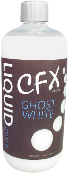 Liquid.cool CFX premix Opaque Performance cooling fluid - 1000ml - Ghost White