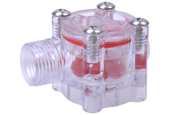 flow meter GMR Transparent G1/2' outer thread - Highflow