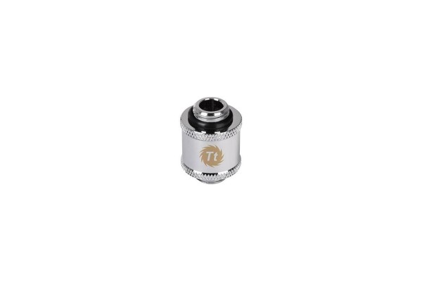 Thermaltake Pacific G1/4 auf G1/4 outer thread Adapter 20mm - Chrome
