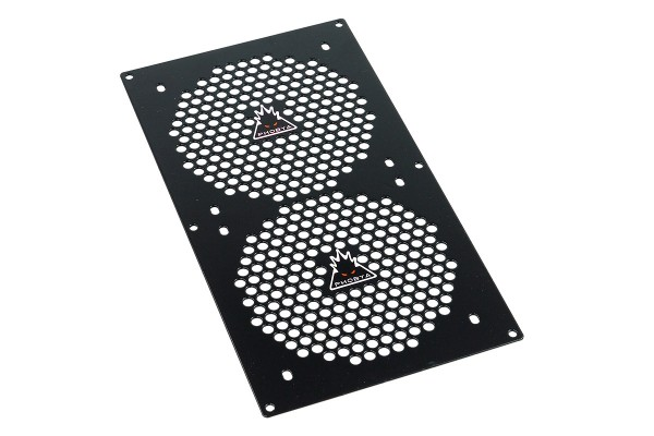 Phobya radiator grill dual (240) - Hole Series - black