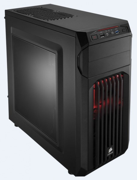 Corsair SPEC-01 Red LED - schwarz