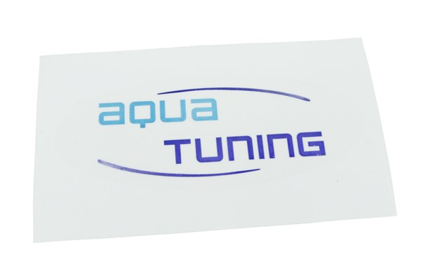 Aquatuning Sticker oval (100x60mm)