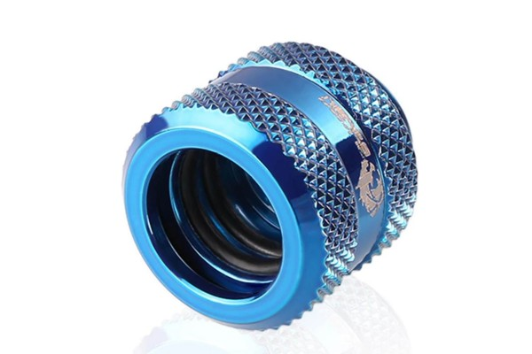 Bykski B-HTJV2-L14-BLU HardTube 14mm compression fitting V2 - Blue