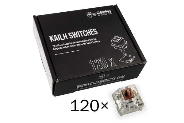 Glorious PC Gaming Race Kailh Speed Bronze Switches (120 pcs)