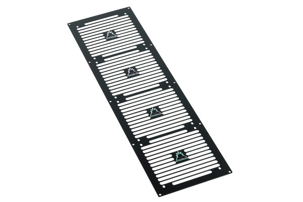 Phobya radiator grill Quad (560) - Stripes - black