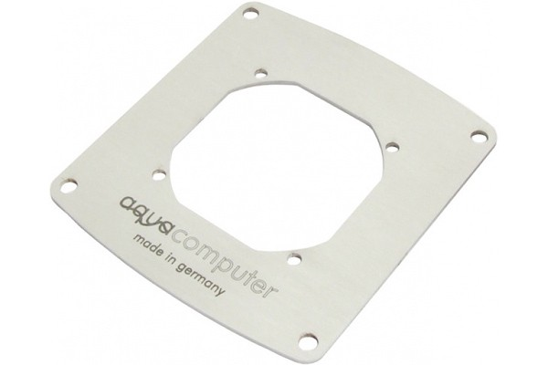 Aquacomputer mounting frame for filter with stainless steel mesh, 80 mm fan opening