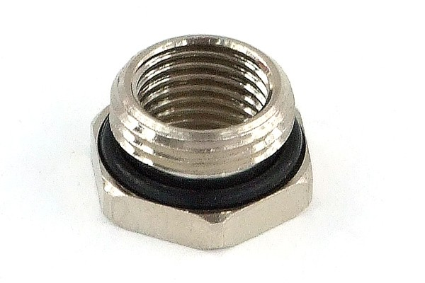 reducing socket G1/4 to G3/8 outside thread with O-Ring