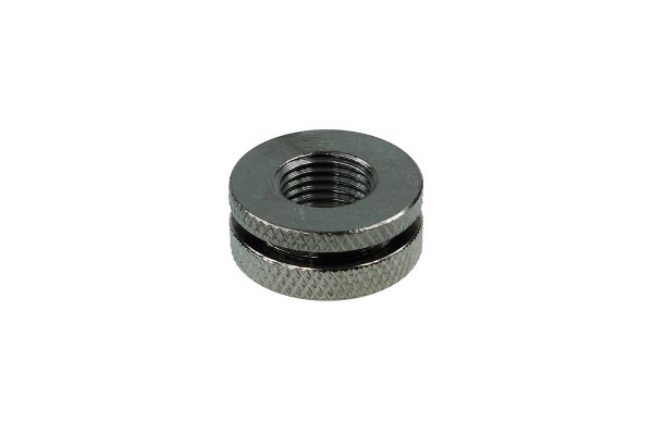 Fillport black nickel - knurled - Universal