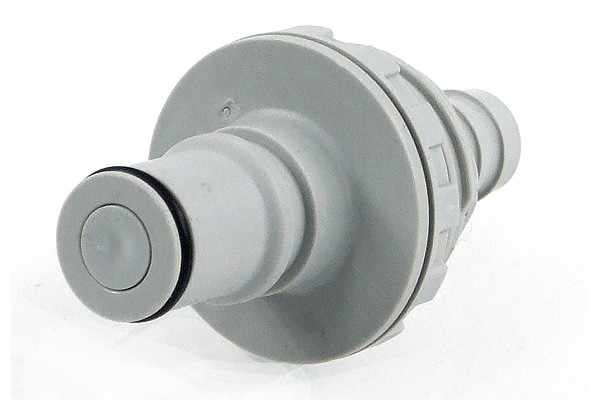 CPC Quick release connector Serie NS6 - 12,7mm plug with bulkhead thread