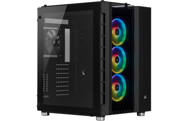 Corsair Crystal Series 680X RGB window - black