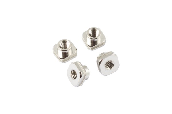 Aquacomputer Threaded insets for airplex radical, 4 pieces