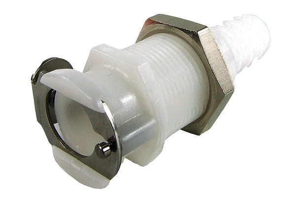 Quick release coupling CPC 9,5mm coupling with bulkhead thread