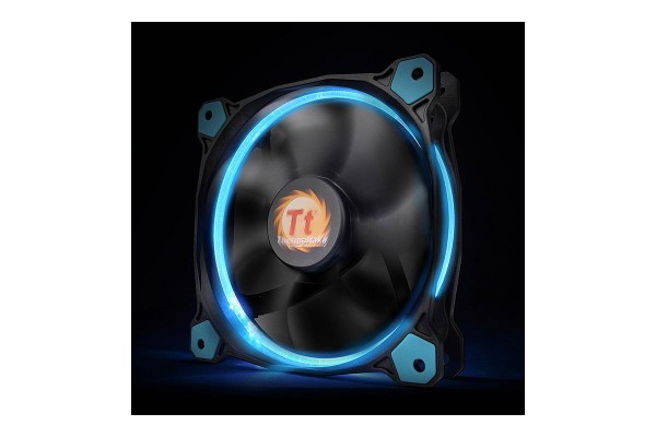 Thermaltake Riing 12 LED blue, casefan - (120x120x25mm)