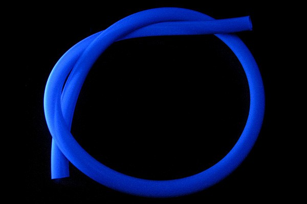 "tubing PVC 19/13mm (1/2""ID) UV-active blue (Alphacool)"