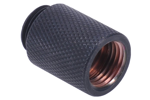 Extension G1/4 to G1/4 25mm - knurled - matte black