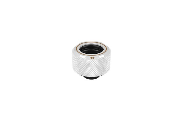 Thermaltake Pacific C-Pro HardTube compression fitting 16mm OD to G1/4 - white