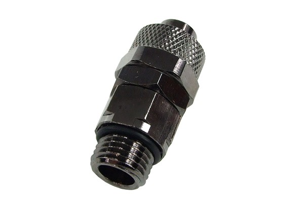 13/10mm (10x1,5mm) compression fitting G1/4'' revolvable - black nickel