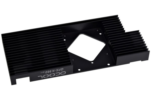 Alphacool Upgrade-Kit for NexXxoS GPX - Nvidia Geforce GTX 960 M11 - black (without GPX Solo)