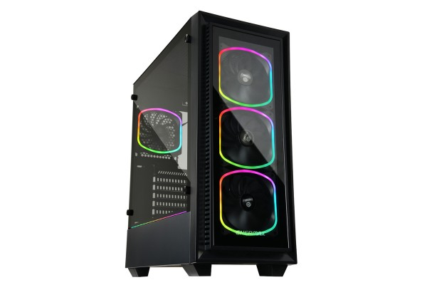 Enermax StarryFort SF30 - Midi/Mini Tower case ARGB Black incl. window