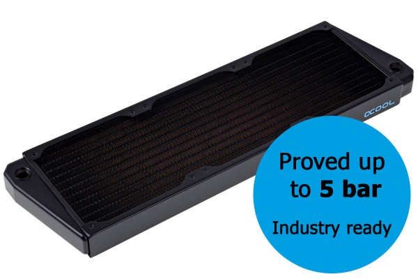 Alphacool NexXxos ST30 Industry HPC Series X-Flow 360mm radiator