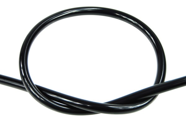 "Masterkleer tubing PVC 10/8mm (5/16""ID) UV-active black"
