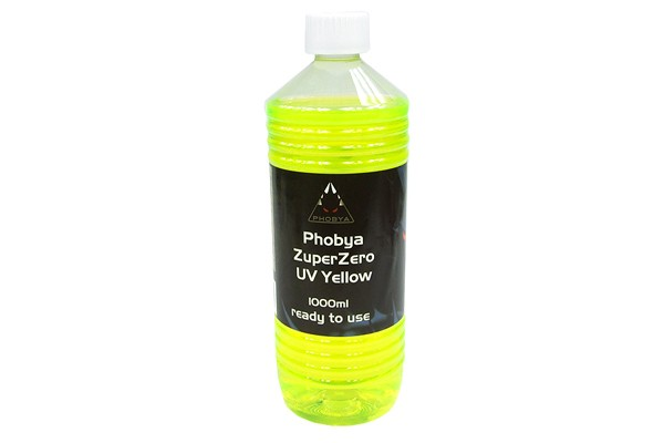 Phobya ZuperZero UV Yellow 1000ml