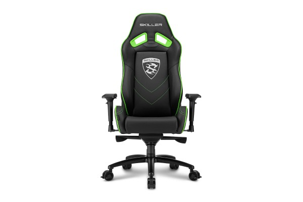 Sharkoon Skiller SGS3 gaming chair - black/green
