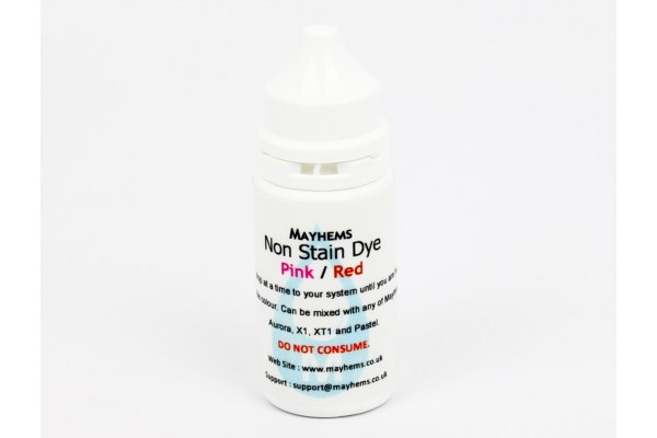 Mayhems Non Stain Dye Pink/Red 15ml