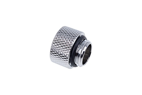 Alphacool Eiszapfen extension G1/4 outer thread to G1/4 inner thread - chrome