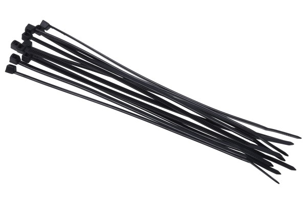Phobya Zip tie black 2,5x150mm 10pcs